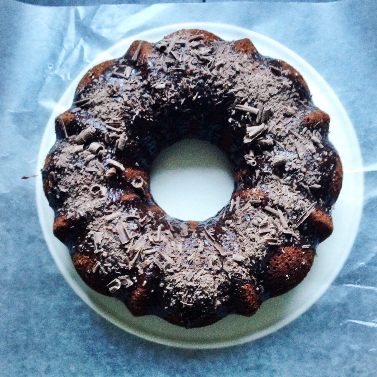 Triple Chocolate Bundt Cake Kellie Rice Cakes