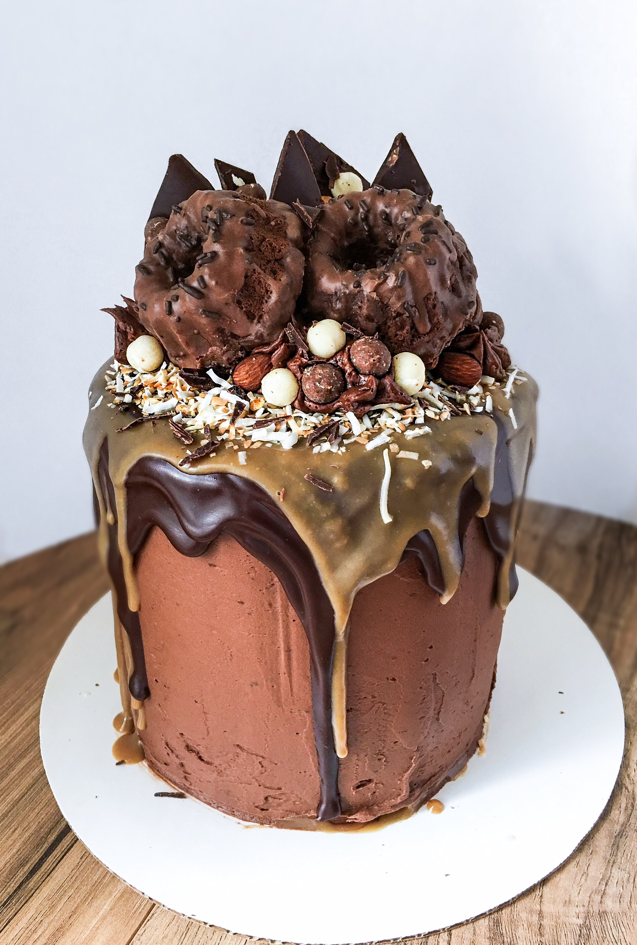 Caramel Chocolate Cake Filling